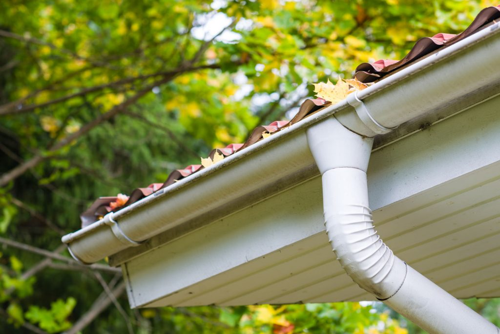 Gutter Installation just in time for the fall